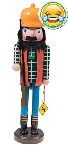"""#awesome • Perfect on tables, shelves, counter tops, and more, #this nut cracker measures 3.5"""" x 3"""" x 15"""". • Features a moving nutcracker mouth with a lever behi..."""