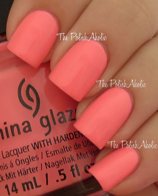 China Glaze Summer 2013 Sunsational Collection Swatches, Neon & On & On