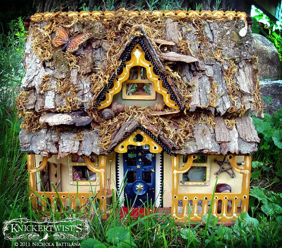 The Star Gazers Cottage - An Airy Fairy Fantasy Faerie House