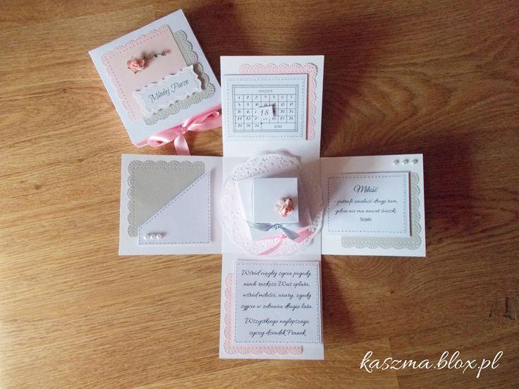 Kącik różności wedding exploding box