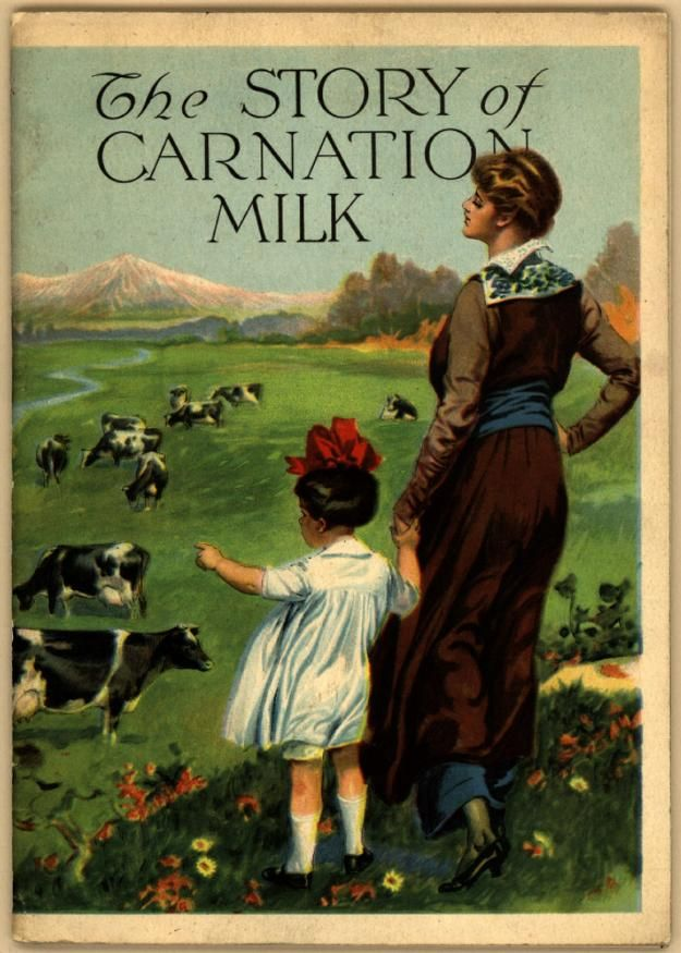 The Story of Carnation Milk Cookbook, 1915    you can read it online.....http://library.duke.edu/digitalcollections/eaa_CK0030/