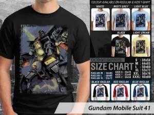 Kaos Mobile Gundam Suit, Kaos Gundam Robot RX-77, Kaos Robot Gundam New York