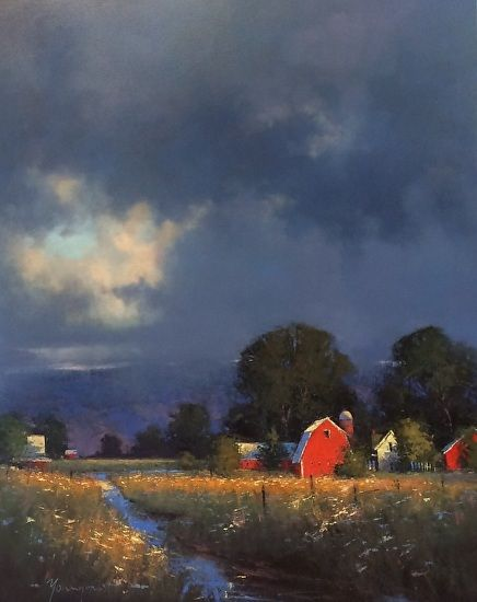 Sense of Place by Romona Youngquist Oil ~ 60 x 48
