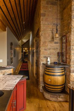 brasada ranch style homes traditional wine cellar other metro by western design international - Western Design Homes