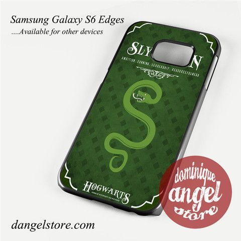 hogwarts slytherin Phone Case for Samsung Galaxy S3/S4/S5/S6/S6 Edge Only $10.99