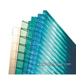 Clear Corrugated Polycarbonate Roof Panel