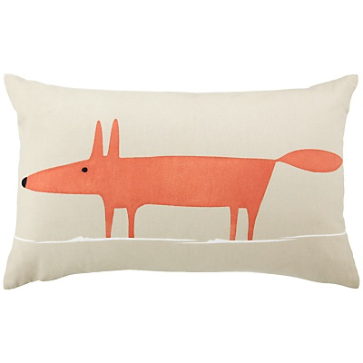 Scion Mr Fox Cushion / John Lewis