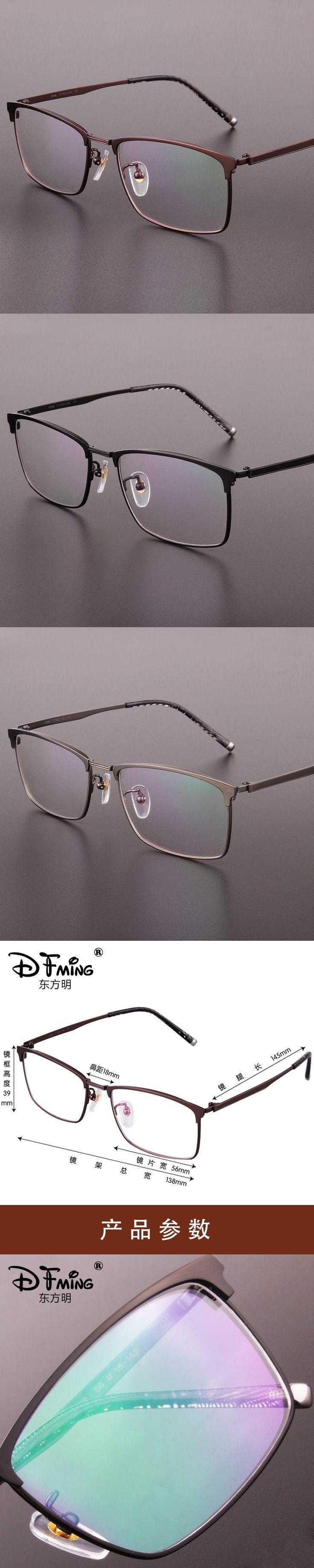 Brand genuine high-end mens glasses frames pure titanium full frame mens glasses frames box prescription glasses 9922