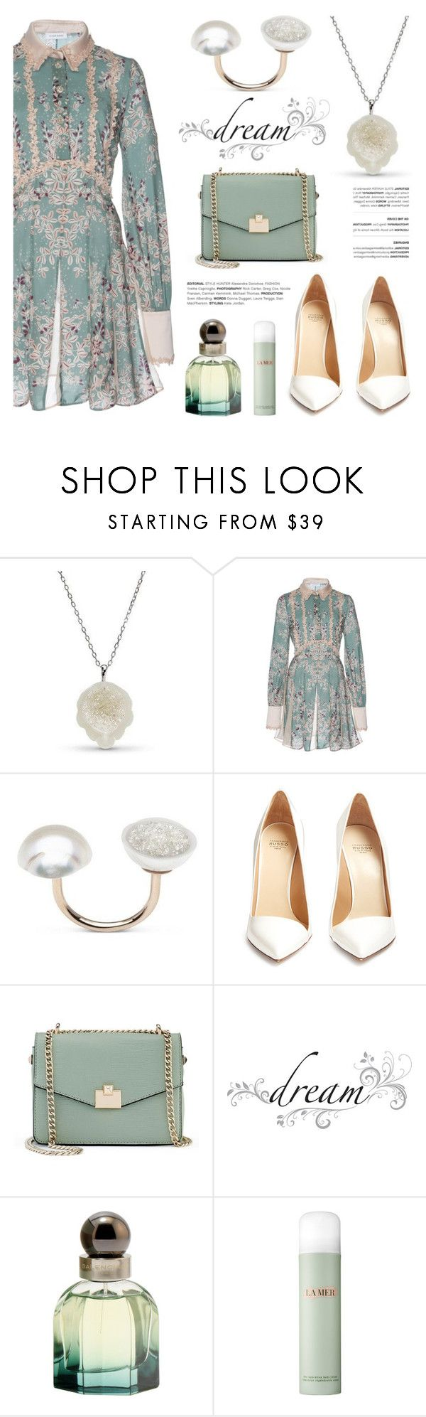 """Dreaming by Little h Jewelry"" by littlehjewelry ❤ liked on Polyvore featuring Stella Jean, Francesco Russo, Jennifer Lopez, jcp and Balenciaga"