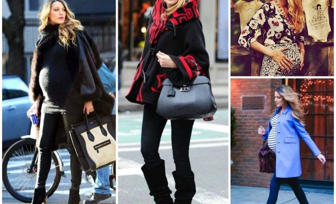 Pregnancy Style Ideas from Celebrity Moms-To-Be
