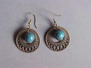 Biżuteria ceramiczna: Kolczyki ceramiczne