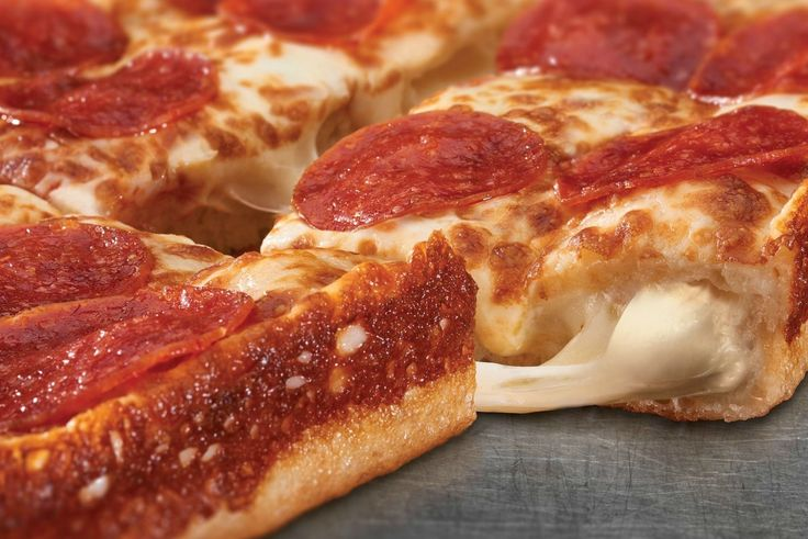 Little Caesars' Crazy New Stuffed-Crust Pizza is Cheese Nirvana  We're talking 3.5 feet of cheese in the crust.