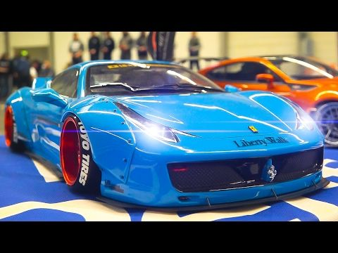 AWESOME RC DRIFT CAR RACE MODELS IN ACTION / Fair Erfurt Germany 2017 - YouTube