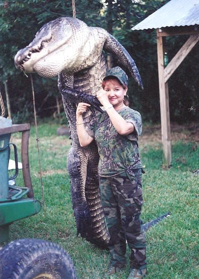 Alligator hunting......weird I know.