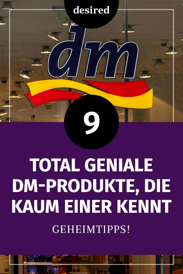 9 total geniale dm-Produkte, die keiner kennt