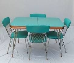 32 Best Formica Tables Images On Pinterest  Formica Table Impressive 1950 Kitchen Table And Chairs Review