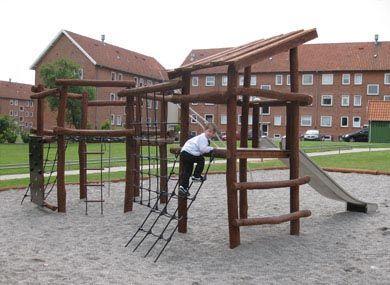 Boligforeninger er yderst tilfredse med legepladser og legeudstyr fra Rudeco