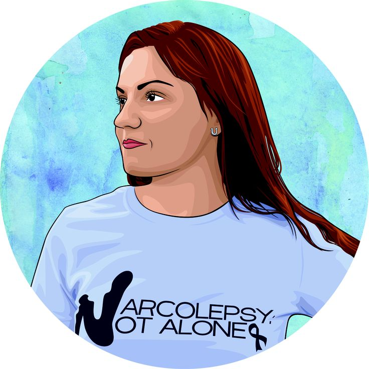 A beautiful portrait by Eleanor Whales! Narcolepsy: Not Alone founder, Julie Flygare