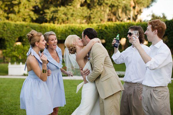 Southern Spotting: Seersucker Bridesmaid Dresses - Southern Weddings Magazine