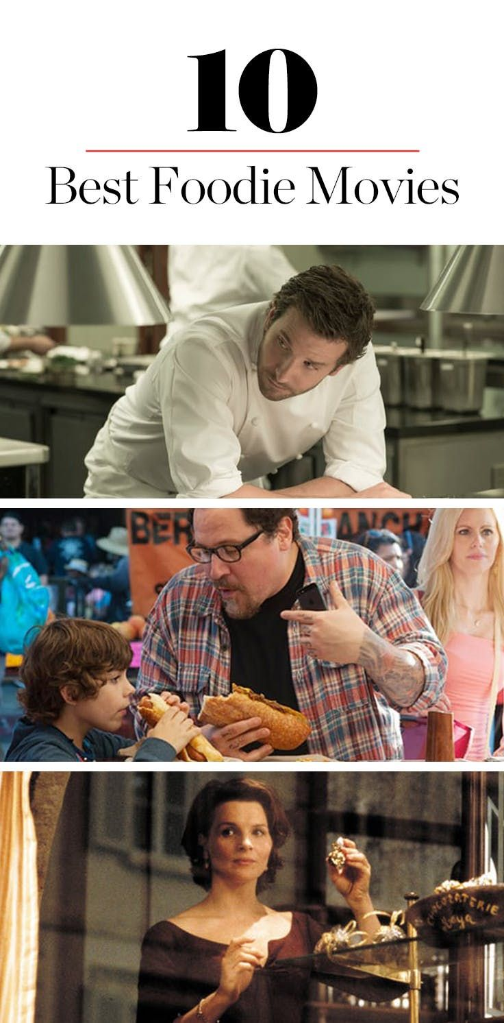 10 Entertaining Movies All Foodies Will Adore via @PureWow