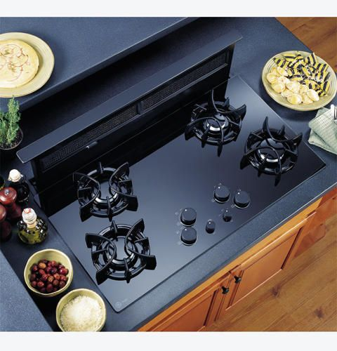 17 best images about cooktop on pinterest ceramics for Stove top with built in vent
