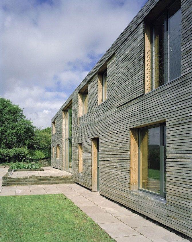 Feilden Fowles Architects - Passive Long House, Ty Pren