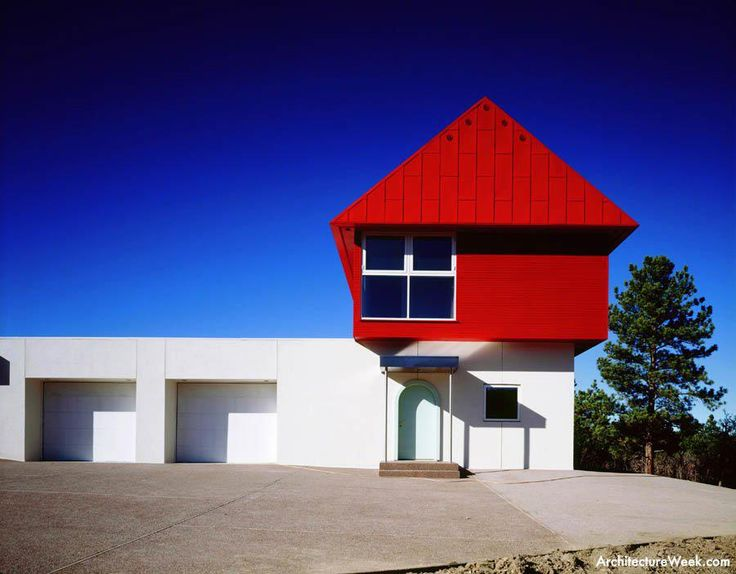"""The Wolf House"" Colorado 1988 by Ettore Sottsass"