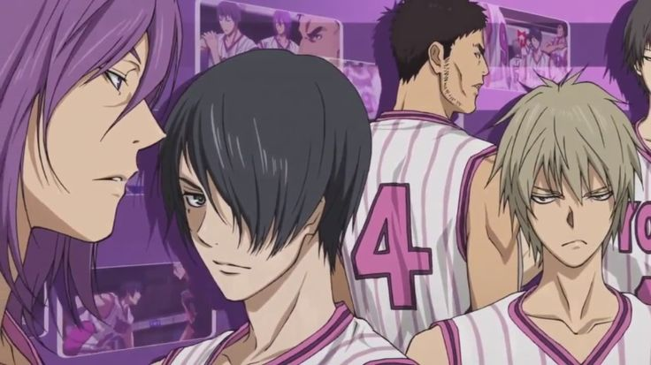 Yosen Muro-chii and Murasakibara-kun is soooo COOL!!♥