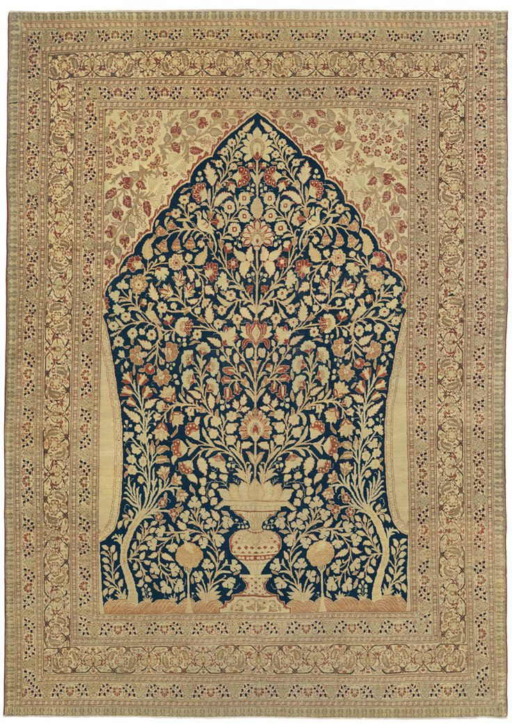 The Luminary Carpet Designer Hadji Jallili Is Among Most Famous Names Ociated With Second Golden Age Of