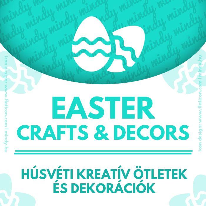 Our Easter related craft tutorial collection (Easter craft ideas, Easter decorations, easy Easter crafts for kids, Easter party favors,bunny &rabbit crafts, easter eggs...)// Húsvéttal kapcsolatos kreatív ötletek és dekorációk (húsvéti kreatív ötletek gyerekeknek, húsvéti kültéri és beltéri dekorációk, húsvéti tojások és nyuszis kreatív ötletek...)