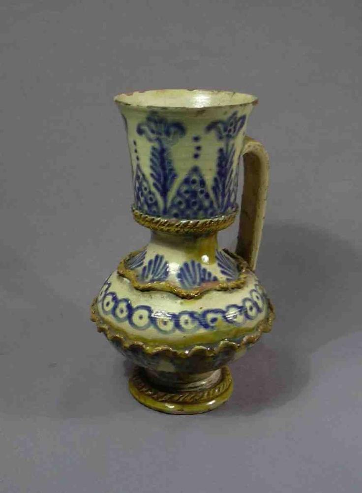Saxon jug from Kürpöd (Kirchberg, Chirpăr), Kingdom of Hungary / Transylvania.   Museum of Ethnography, Budapest (NM 51.30.767)