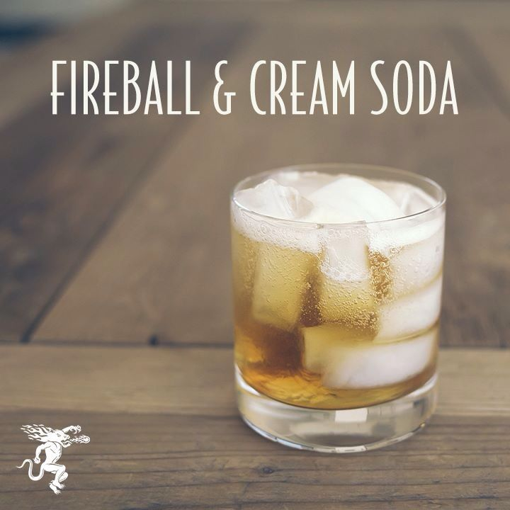 Fireball Drinks With Cream Soda