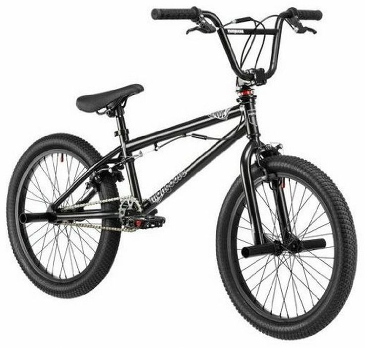 "BMX 20""Black Freestyle steel frame Bicycle Tricks Bikes Exercises Free Shipping! #Mongoose"