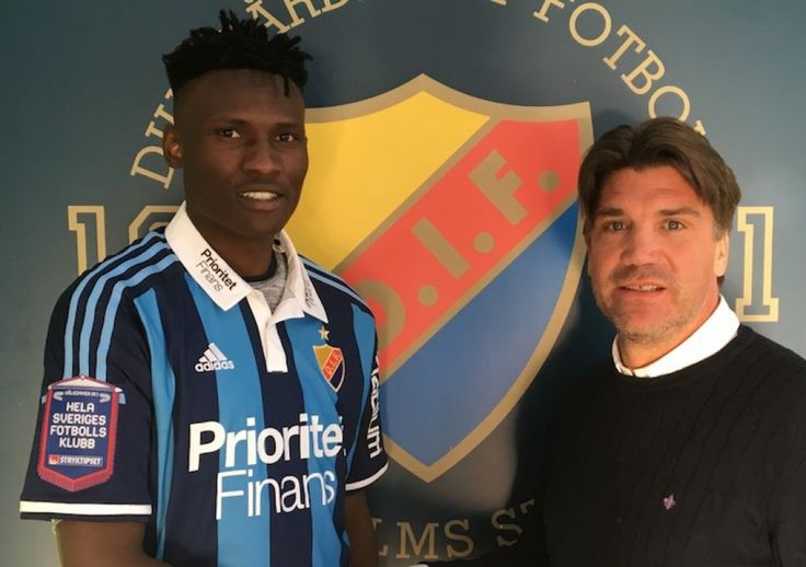 Kenyas Olunga signs four year deal at Djurgardens IF