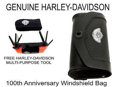 OEM Harley Davidson 100th Anniversary 2003 FLHRC Road King Windshield Tool Bag