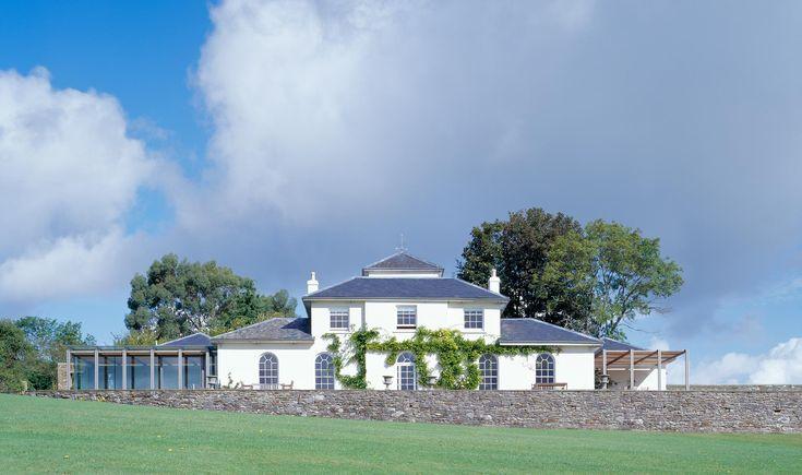 Stoke Gabriel, Sir John Nash architect 1805, McLean Quinlan architects restoration and addition