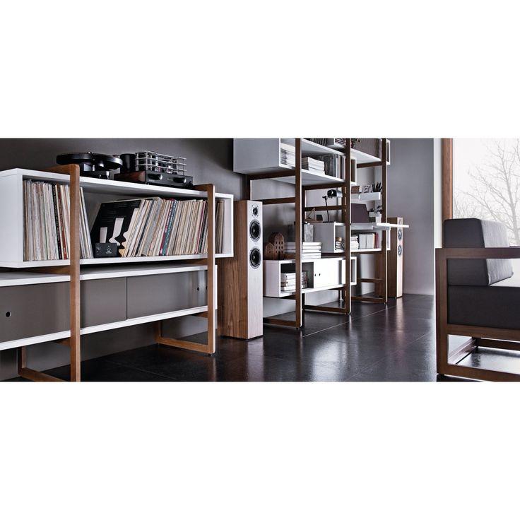 Bookcase, Bookshelves Media/Bookshelves : Organize your living room with modern bookshelves