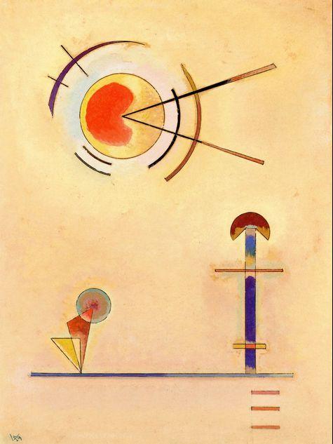 'Flat,1929' - Wassily Kandinsky.