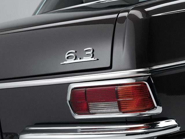 Mercedes-Benz 300SEL 6.3 by Auto Clasico, via Flickr