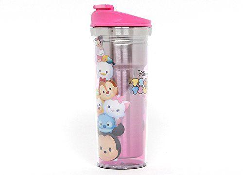 Amazon.co.jp: (ディズニー) Disney ツムツム 子供用 キッズ 水筒 ボトル/ 韓国生産 / ディズニー 正品 / Tsum Tsum Basic Water Bottle シルバー [並行輸入品]: ホーム&キッチン
