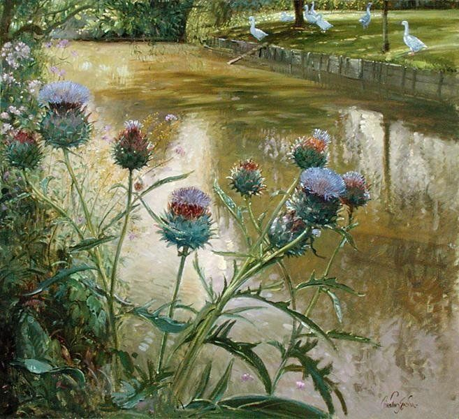Timothy Easton -  Cardoons Against the Moat