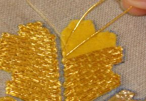 Basics of goldwork.