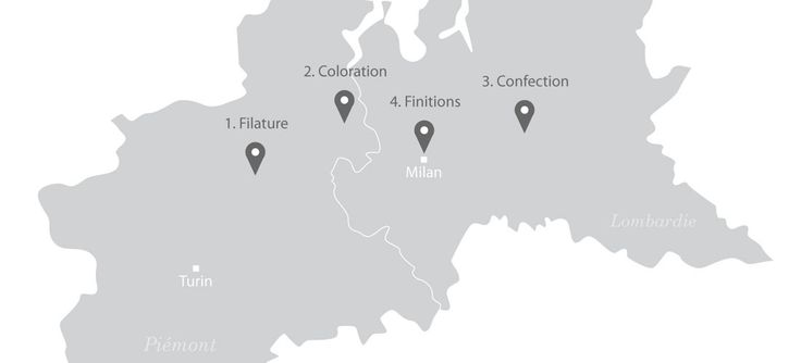 filation du coton en Italie
