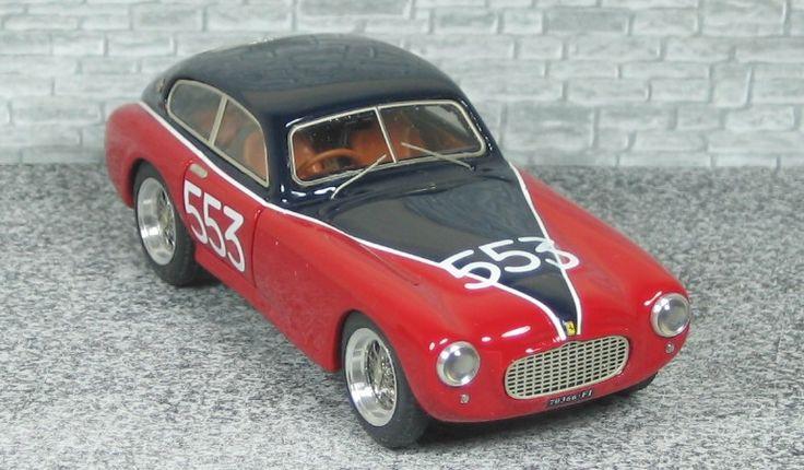 Ferrari 212 Export Berlinetta Motto - Mille Miglia 1954 - Alfamodel43