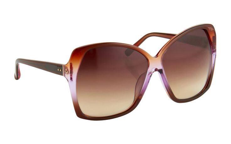 Think Big - Oversized sunglasses are in this #aw14! Linda Farrow Luxe 137 C10