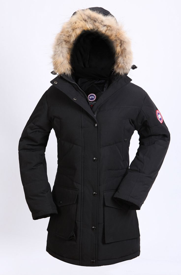 canada goose 2016 new jacket black womens