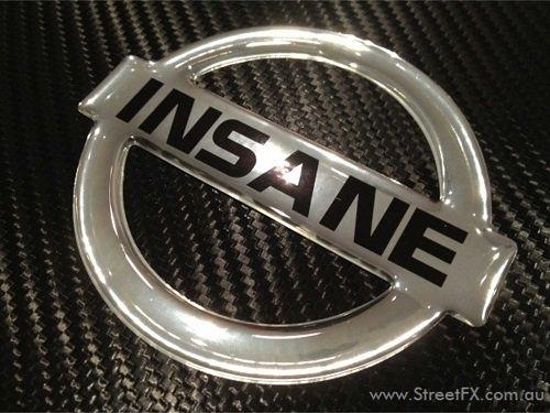 Image result for metal nissan emblem
