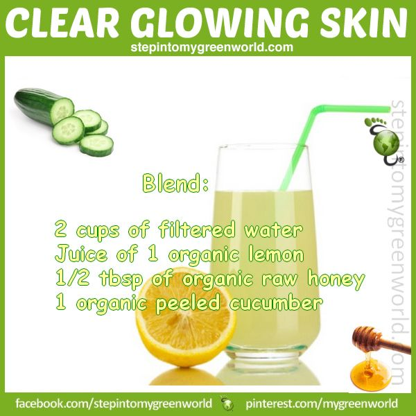 ☛ BEAUTY COMES FROM WITHIN: An anti-inflammatory drink that will help you detox and get a glowing and rehydrated skin. FOR ALL THE DETAILS: http://www.stepintomygreenworld.com/greenliving/greenbeauty/cucumber-anti-inflammatory-and-radiant-skin-drink/ ✒ Share | Like | Re-pin | Comment