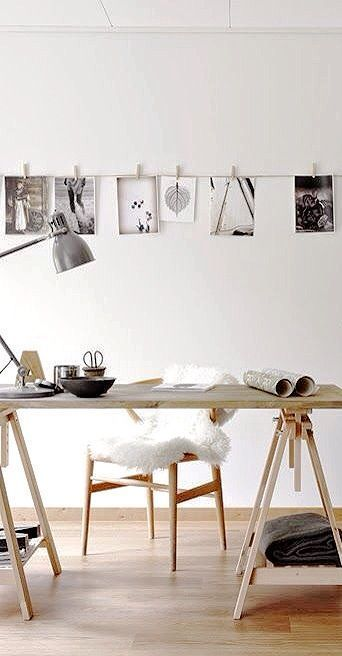 77 Gorgeous Examples of Scandinavian Interior Design Scandinavian-office-with-fur