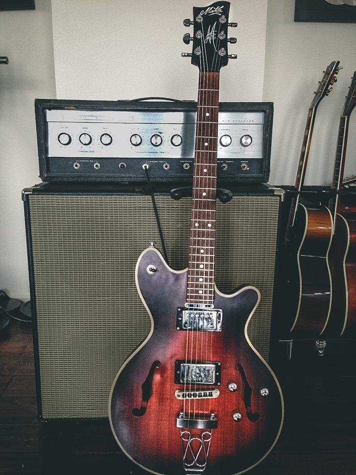 36 best vintage maton images on pinterest guitars cherry and electric. Black Bedroom Furniture Sets. Home Design Ideas